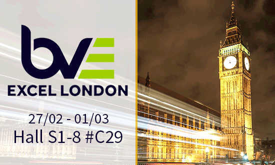 BVE Connected Media Europe 2018
