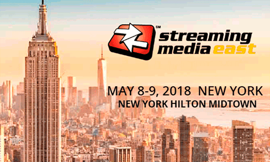 Streaming Media East 2018