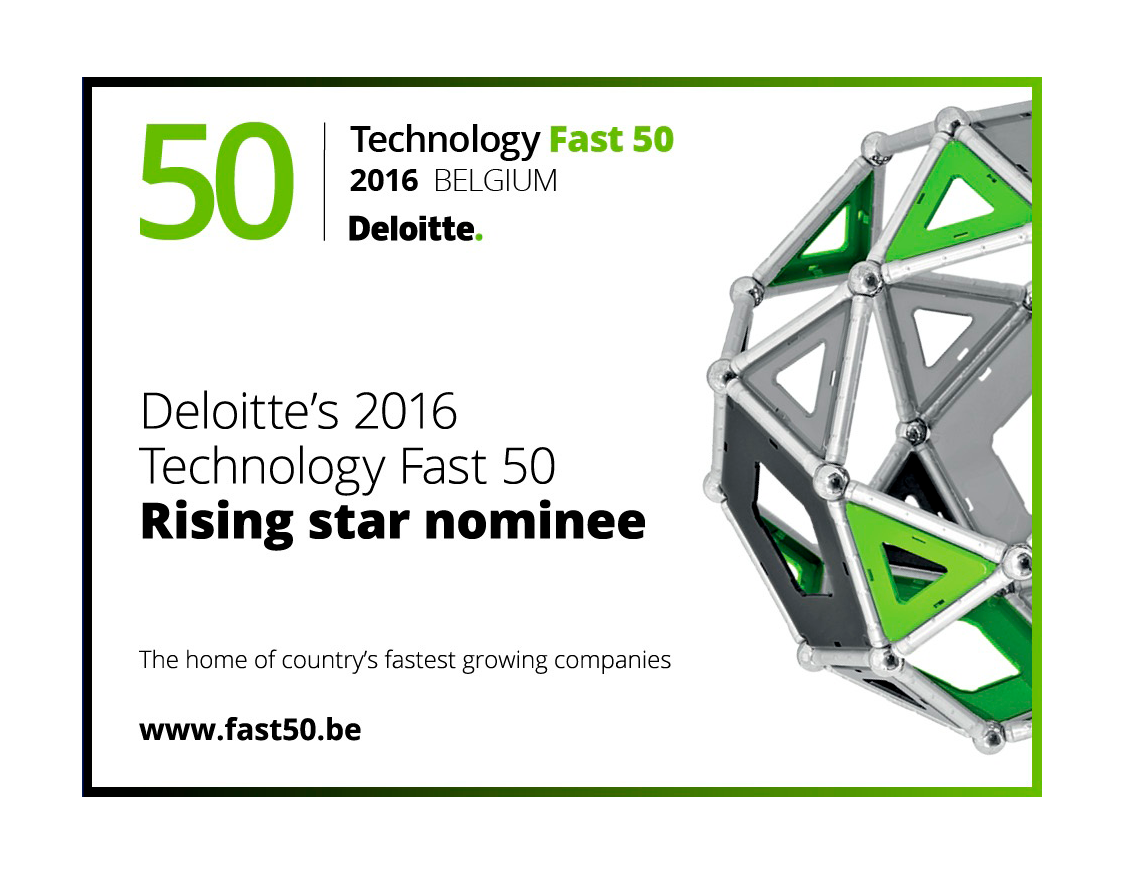 THEOplayer nominee to Deloitte's award