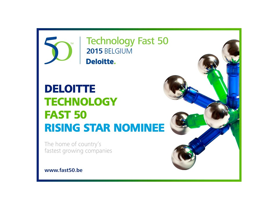 THEOplayer nominee to Deloitte's award 2015