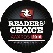Streaming Media Readers Choice Awards 2016