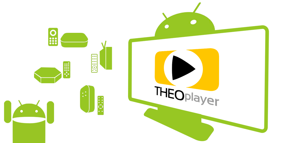 THEOplayer supports Android TV