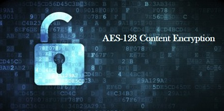 AES-128 content encryption