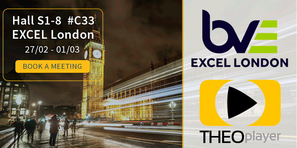 THEOplayer is attending Connected Media BVE 2018