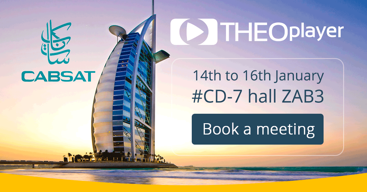 THEOplayer is attending CABSAT 2017