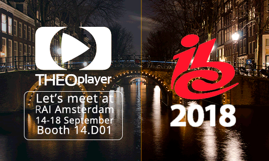 THEOplayer will be at IBC 2018
