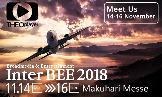 THEOplayer will be at Inter BEE 2018