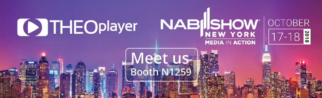 THEOplayer is at NAB New York 2018