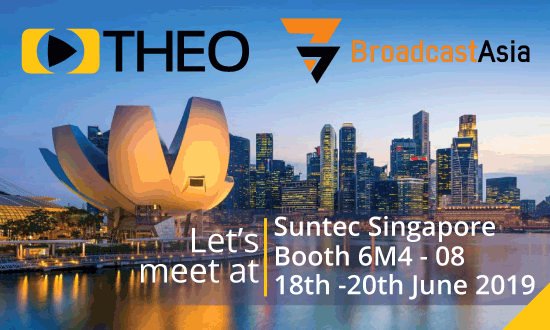 THEOplayer will be at Broadcast Asia 2019