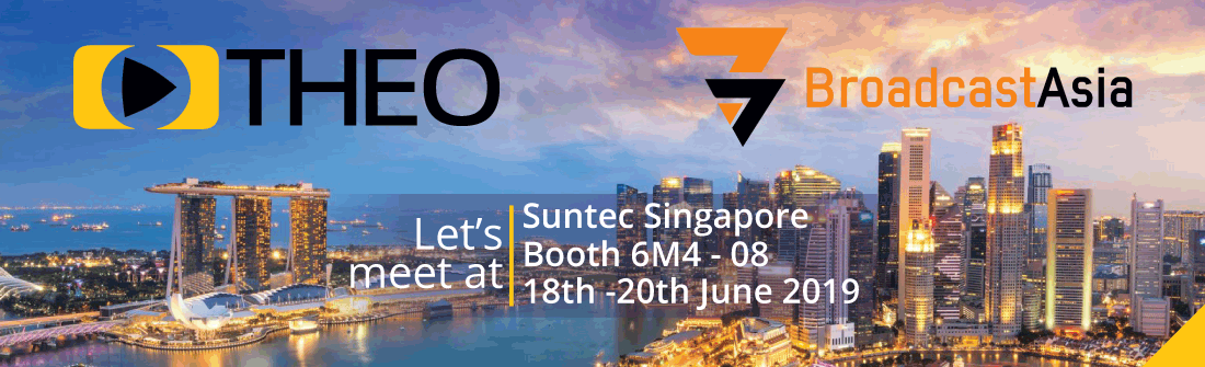 THEOplayer is attending Broadcast Asia 2019