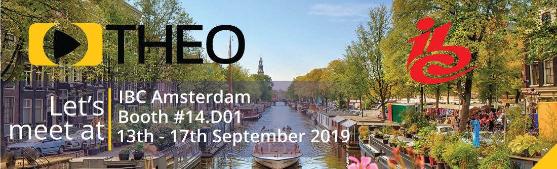THEOplayer is attending IBC Amsterdam 2019