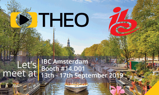 THEO Technologies will be at IBC 2019