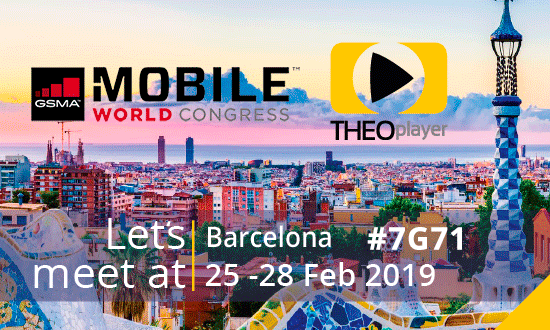 THEOplayer will be at Mobile World Congress 2019