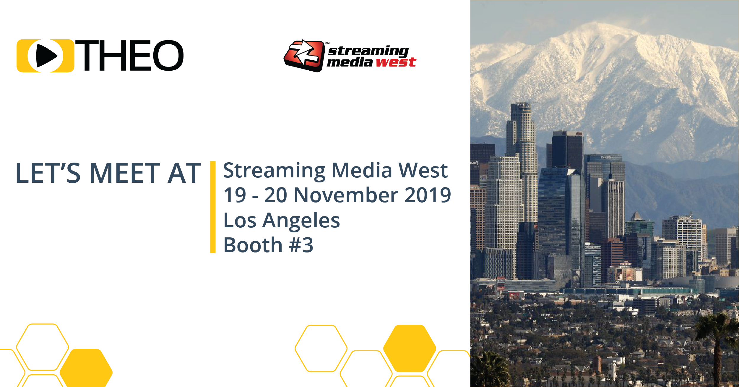 Meet THEO at Streaming Media West 2019