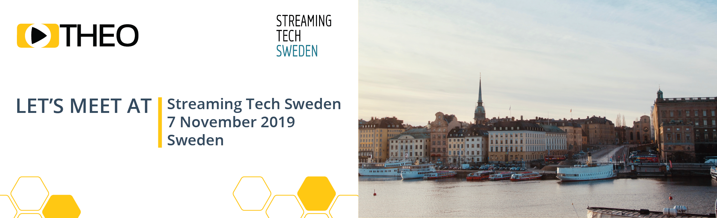 THEO Technologies is attending Streaming Tech - Sweden