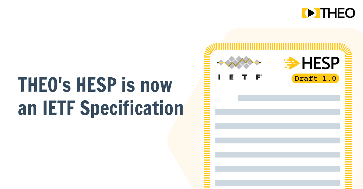 Announcement: THEO's HESP is now an IETF Specification