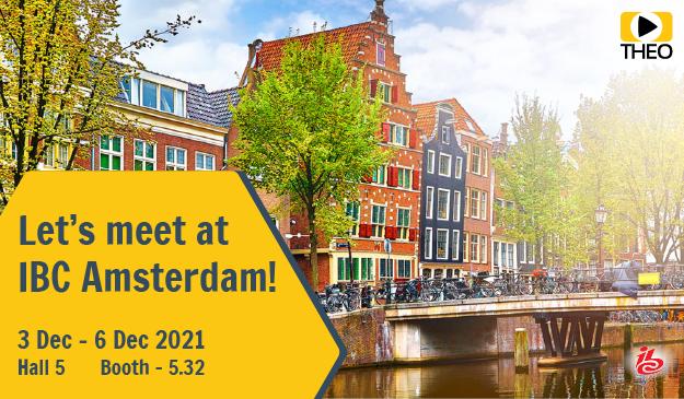 Book a meeting at IBC Amsterdam 2021