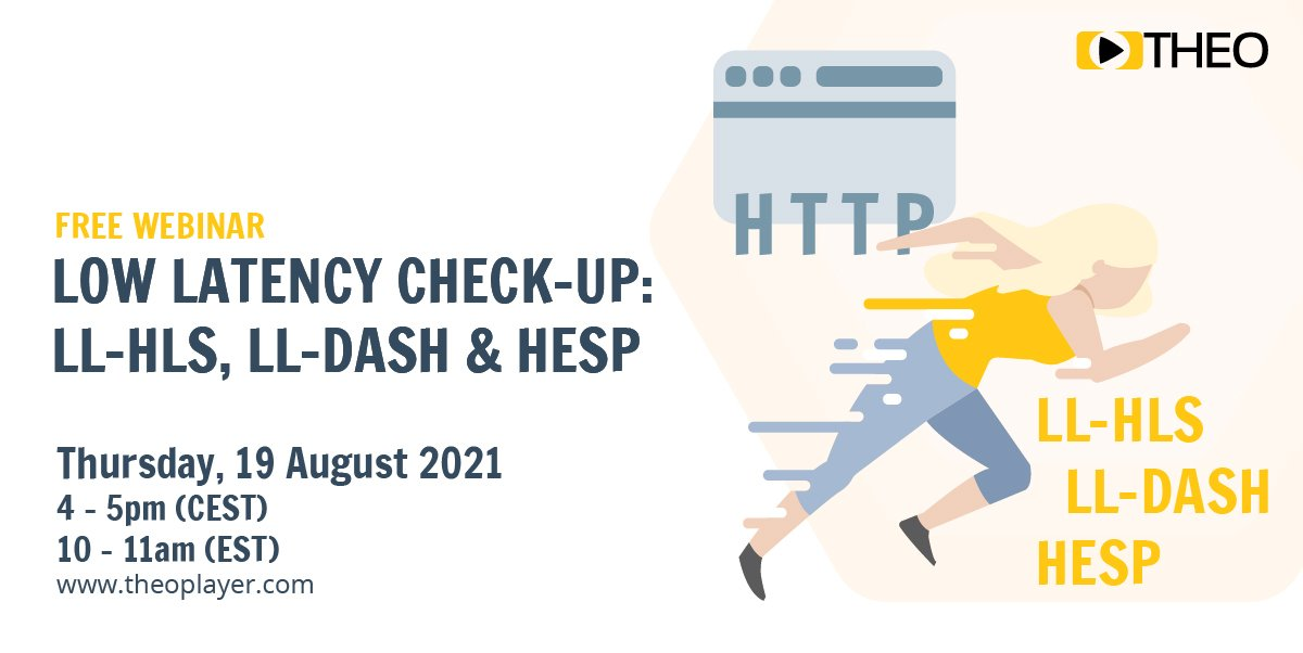 [ON-DEMAND] Low Latency Check-up: LL-HLS, LL-DASH and HESP