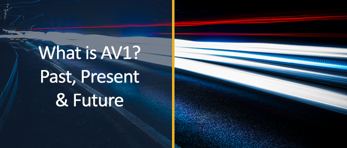 Av1 is here. THEOplayer gives you the right information