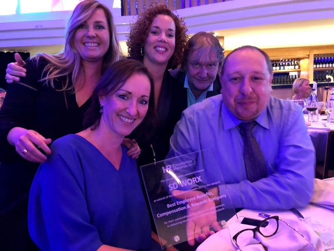THEOplayer receives the prize for Best Employee Benefits