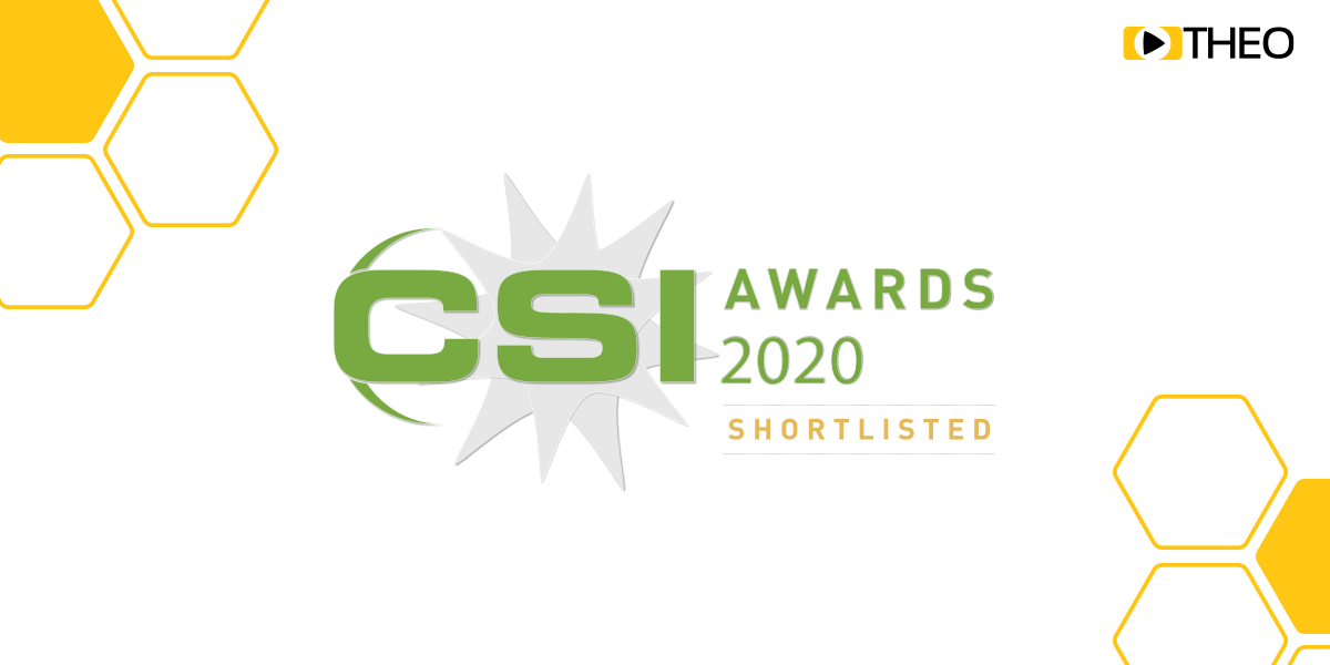 THEO Technologies Highly Commended with HESP in CSI Awards 2020