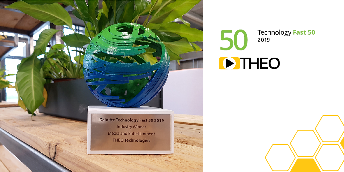 THEO Technologies wins Deloitte 2019 Fast 50 Award in Media and Entertainment Category