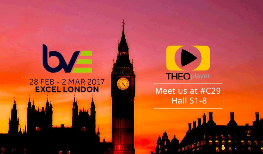 THEOplayer will be at BVE Connected Media 2018, meet us there