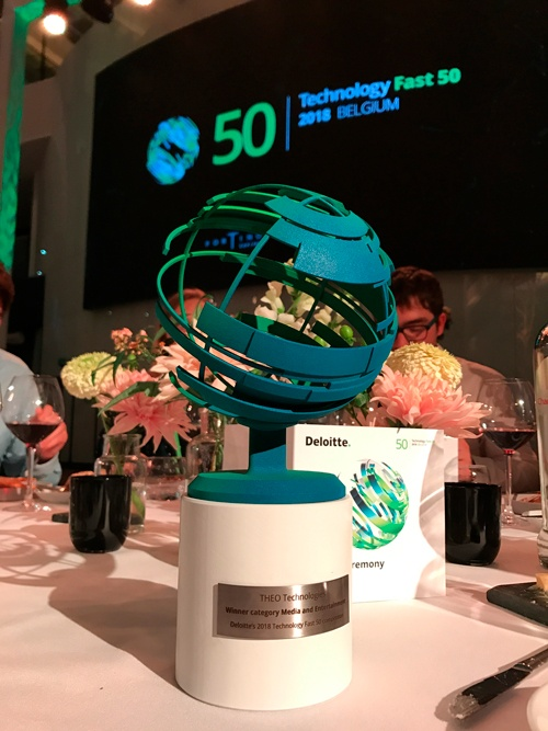 THEO Technologies wins Fast 50 Award in Media and Entertainment Category
