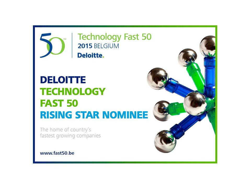 THEOplayer nominated for the Deloitte Rising Star Award