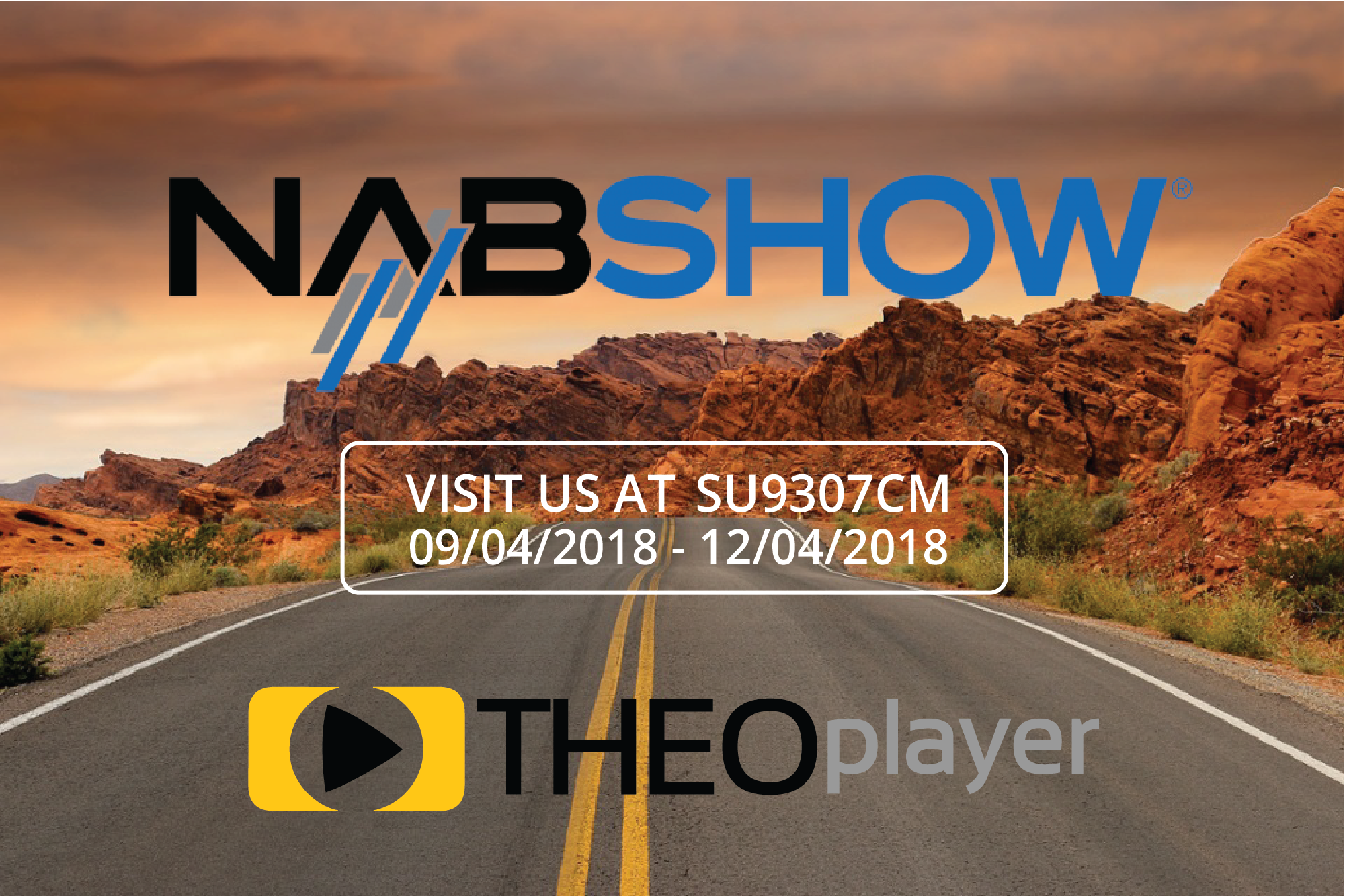 THEOplayer is on its way to NAB Las Vegas 2014