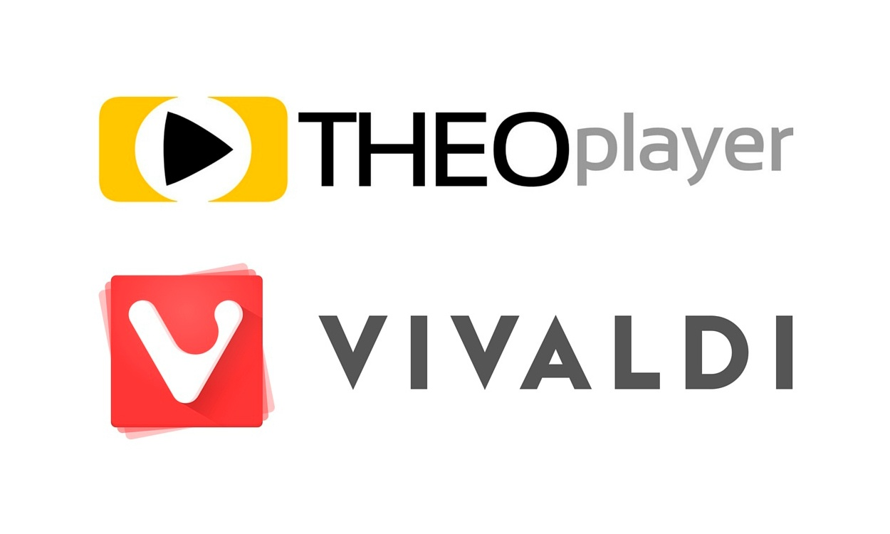 THEOplayer and Vivaldi now partners