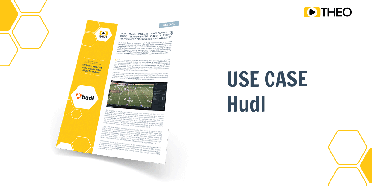 Use Case Download - Hudl and THEOplayer