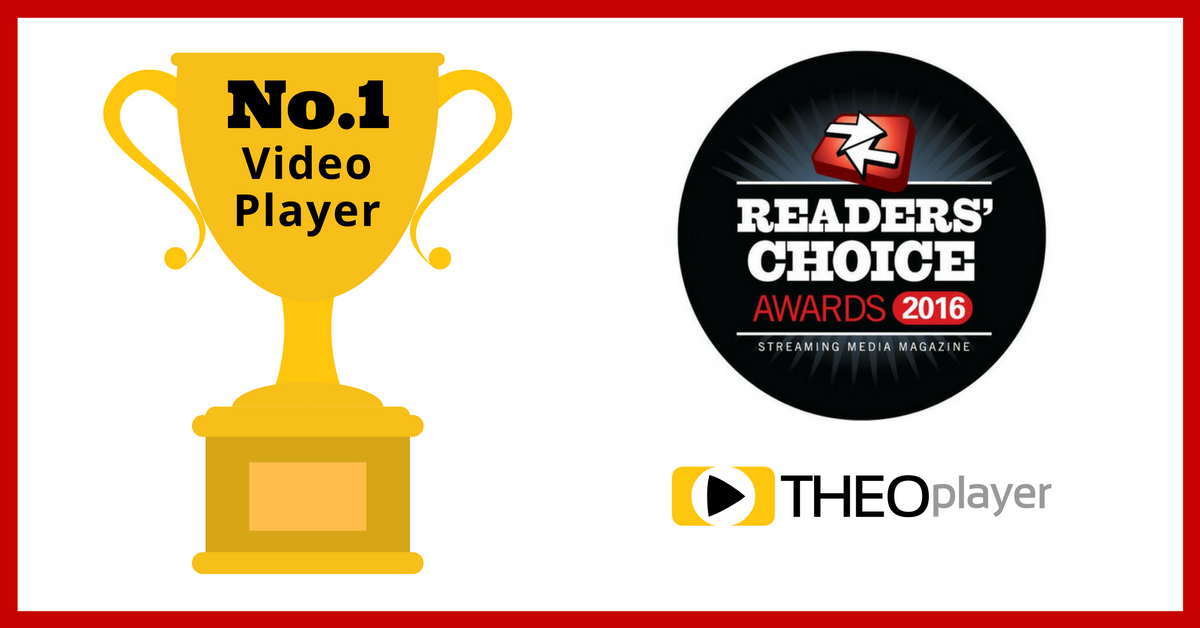 Customers Vote THEOplayer the Best Video Player