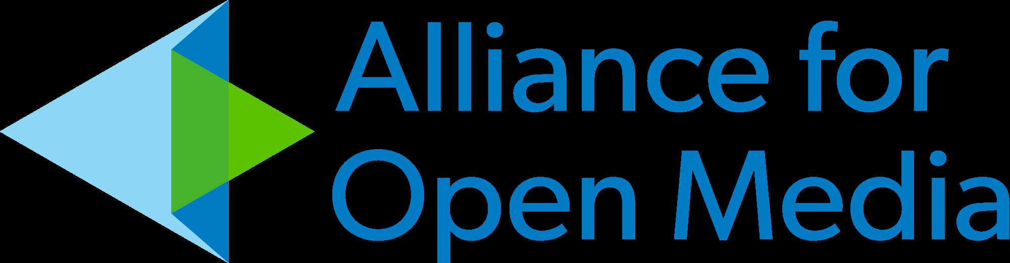Alliance for Open Media logo