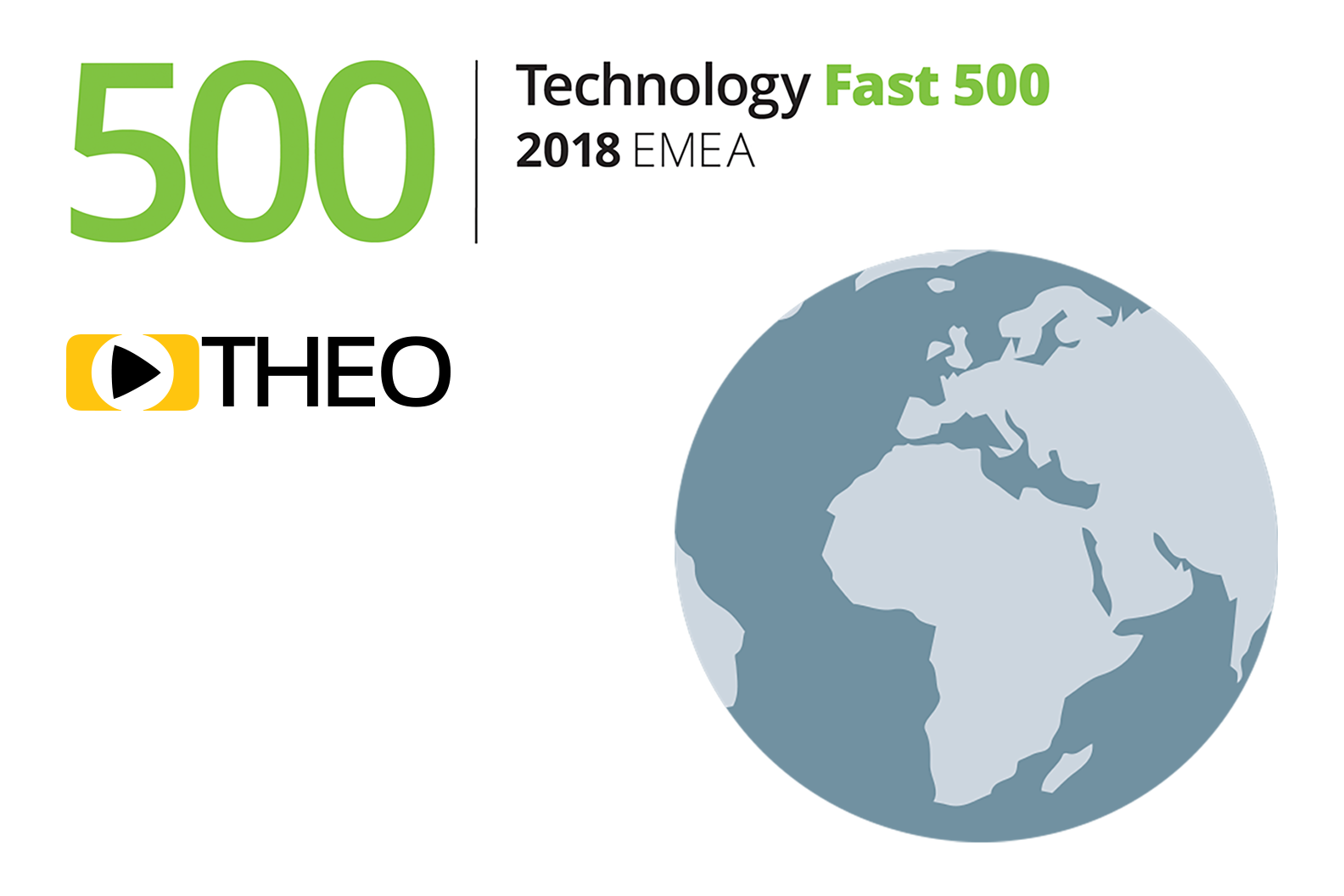 THEO Technologies ranked 47 fastest-growing company in the Deloitte 2018 Technology Fast 500 EMEA List.