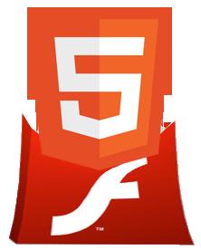 html5 no flash